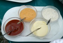 Emulsifiers can be found in foods like mayo, ketchup and barbecue sauce.