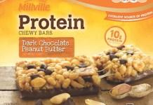 Millville Protein Bar Recall