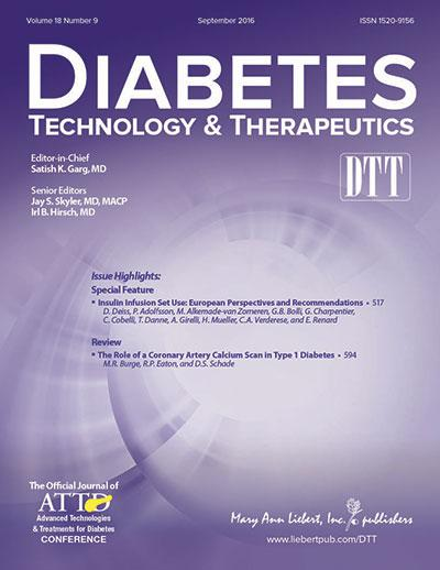 Diabetes Technology & Therapeutics (DTT) is a monthly peer-reviewed journal