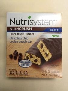 Rappel de la crème glacée nutrisystem