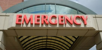 Hospital Emergency Entrance - Diabetes Health