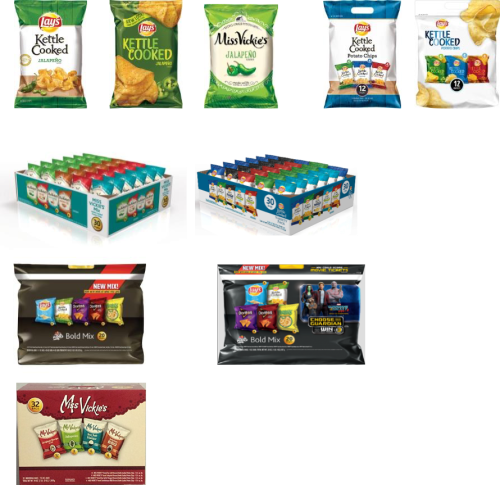 Recalled Frito-Lay Potato Chip Products