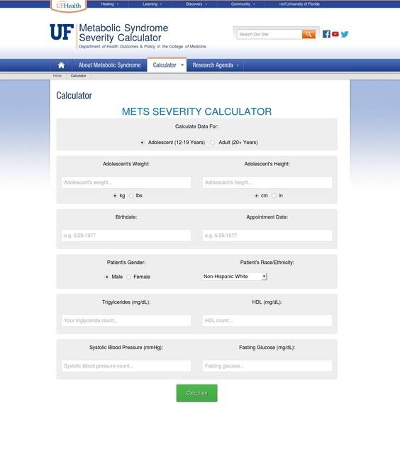 UVA Health Calculator - Free Health Tool Calculates Risk of Heart Disease and Diabetes