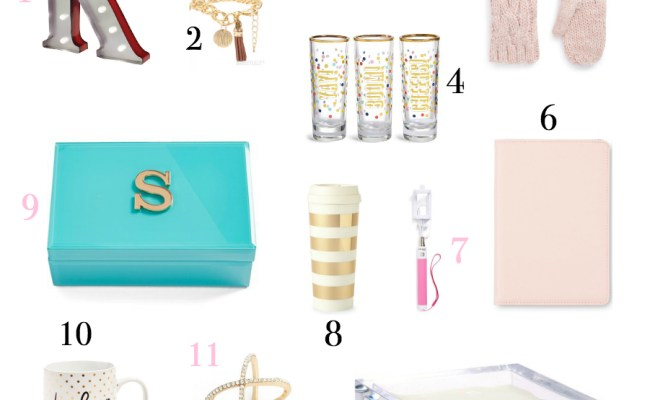 Gift Guide For Your Bff 14 Adorable Gifts Under 25