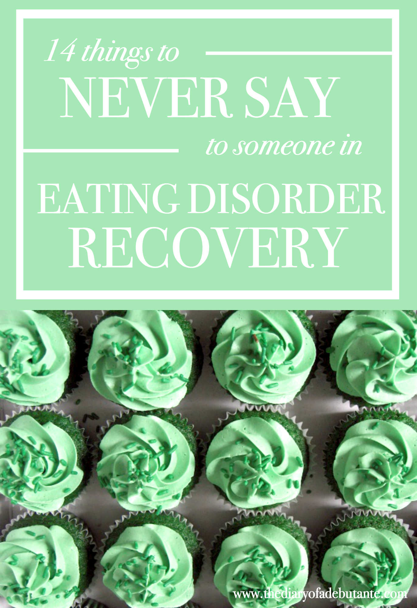 14 Things To Never Say To Someone With An Eating Disorder