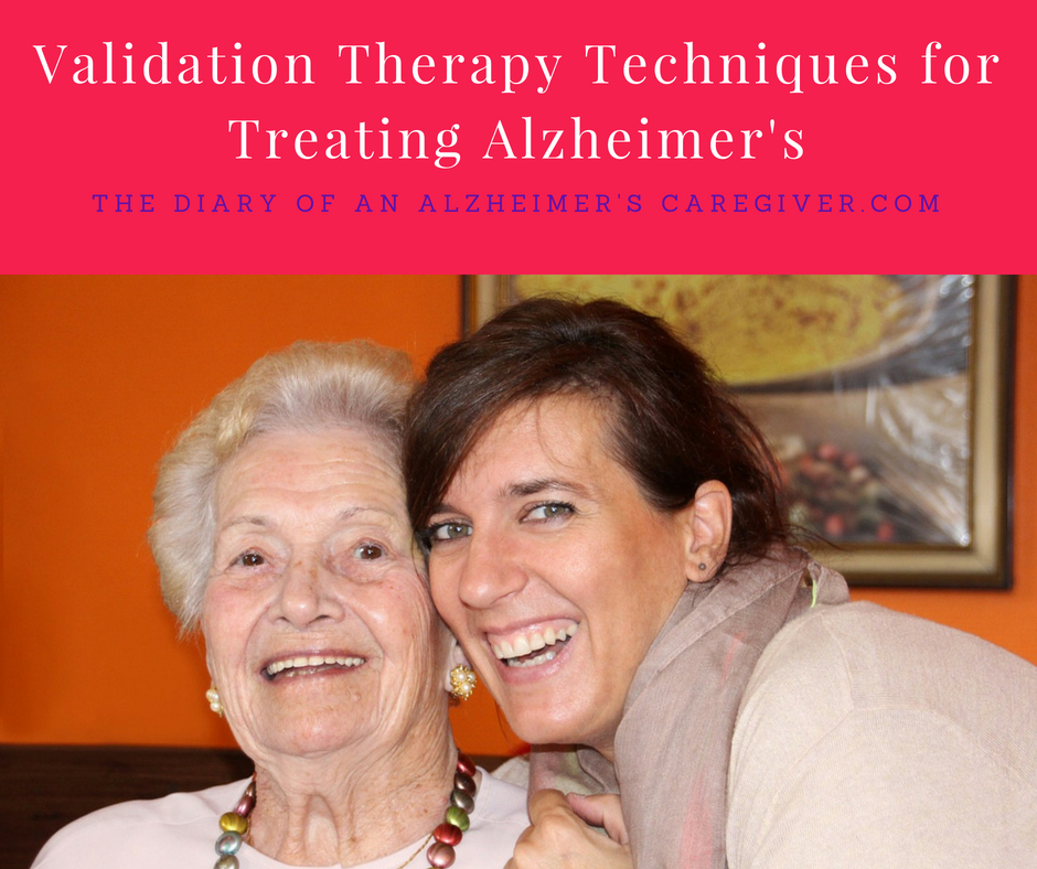 Validation Therapy Techniques for Treating Alzheimer's