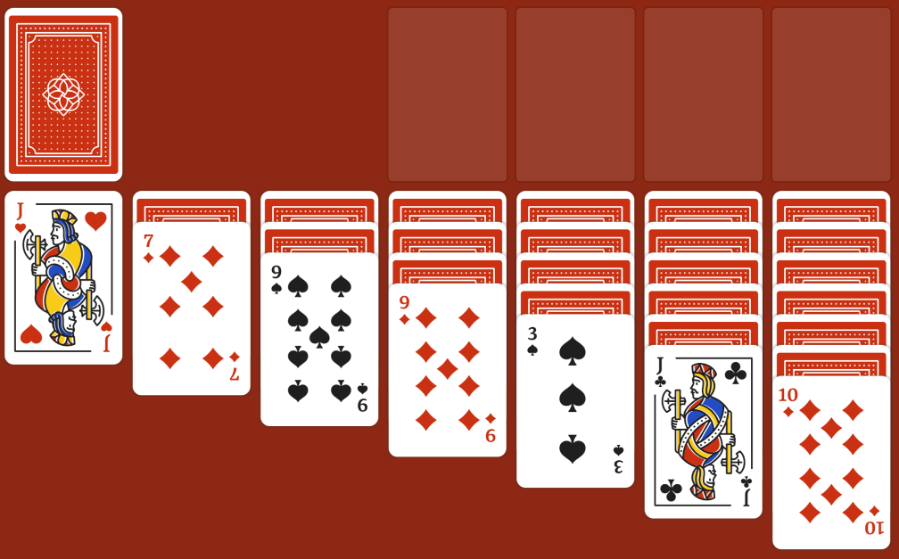 Solitaire brain free online game