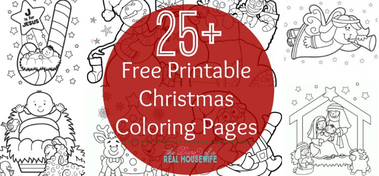 christmas coloring pages  the diary of a real housewife