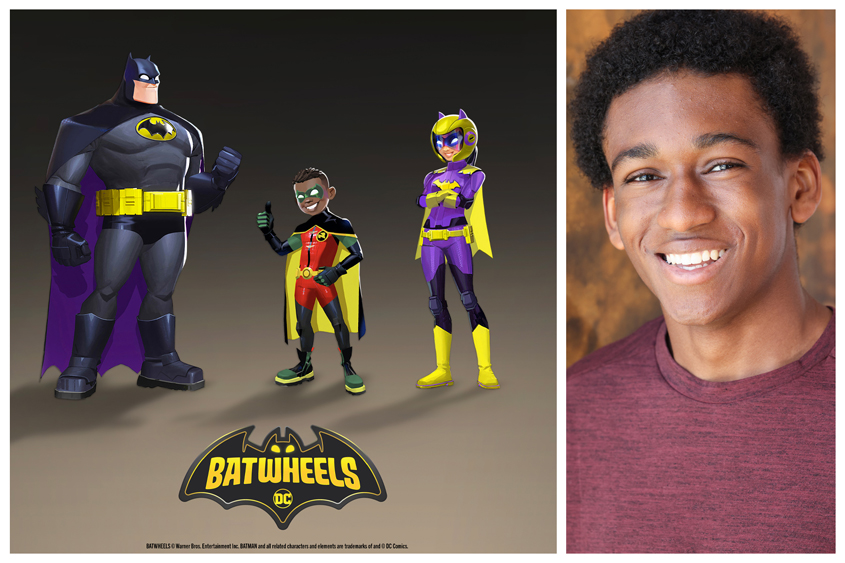 AJ Hudson To Voice First Black Iteration Of Robin In 'Batwheels' Animated Series; Leah Lewis And Kimberly D. Brooks Join Cast