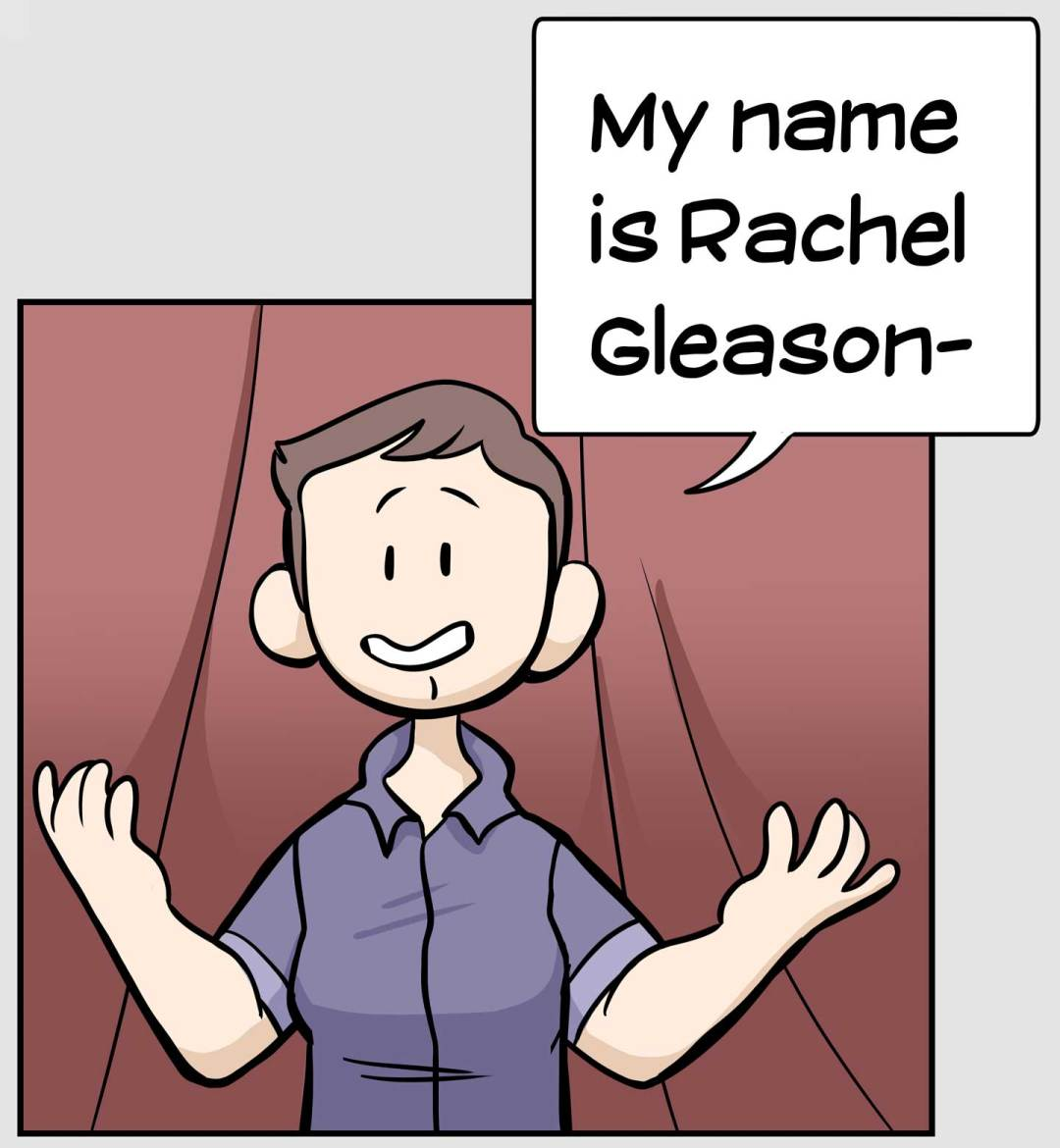 My name is Rachel Gleason and who I am today as a person and artist all goes back to my past.