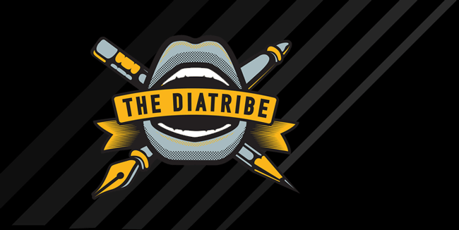 Diatribe Logo. Copyright 2018. We are a 501c Non Profit Organization