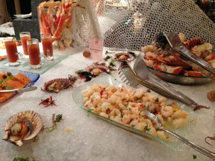 The seafood section at Spectrum On One