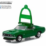 1 64 Greenlight Holiday Ornaments Series 1 1969 Ford Mustang Boss 429 The Diecast Pub