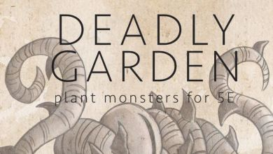 Photo of Deadly Garden Introduces New Plant Monsters To Your Dungeons & Dragons Games