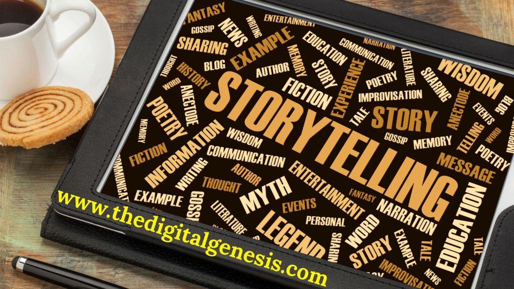 DIGITAL GENESIS-STORYTELLING