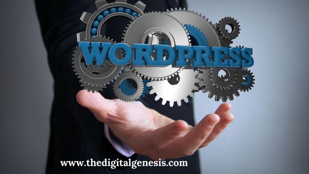 start WordPress blog