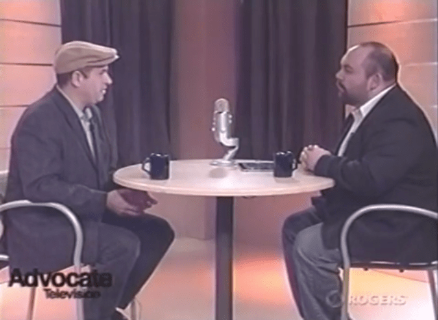 Television Interview with Robert Lavigne