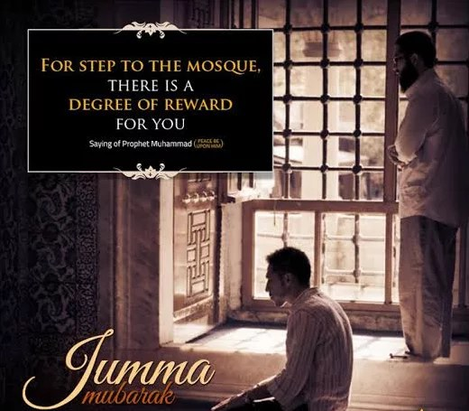 images of jumma mubarak with quotes