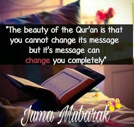 jumma mubarak quote