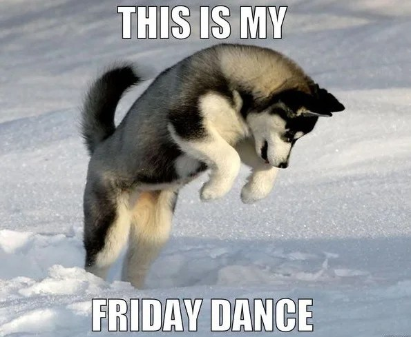 This is my Friday Dancew