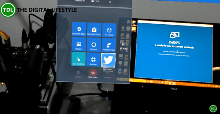 How to use Miracast with HoloLens