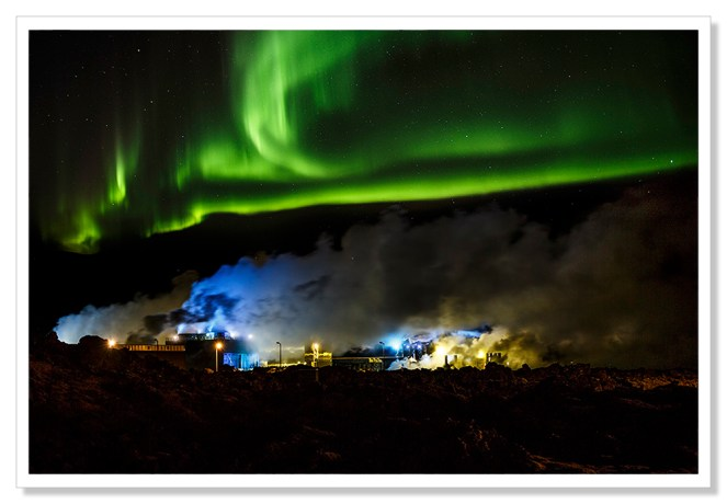 Auroras in the wind - Andre B Erlich