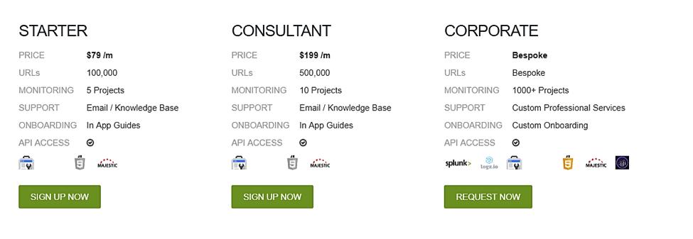 deepcrawl pricing
