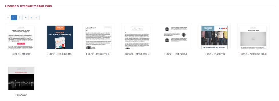 sendlane responsive templates