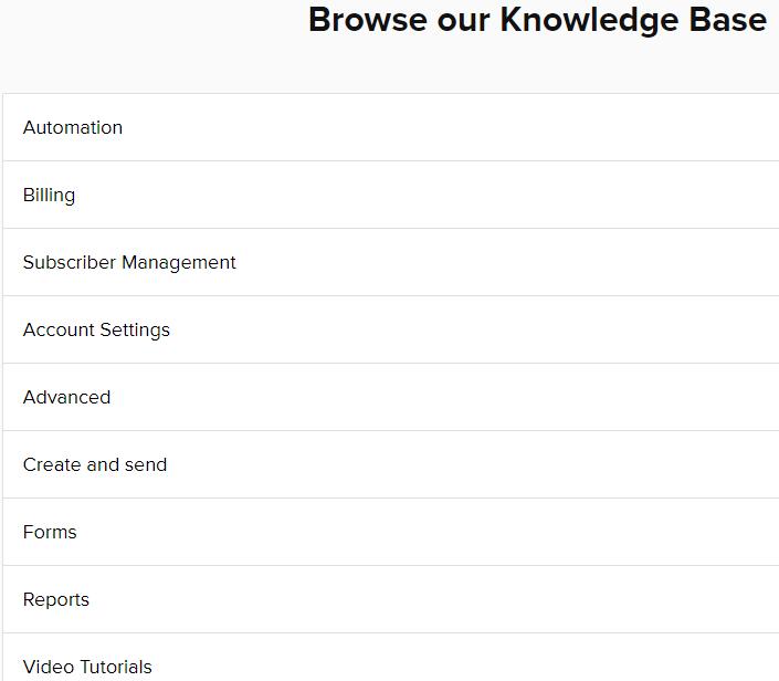 MailerLite Knowledge Base