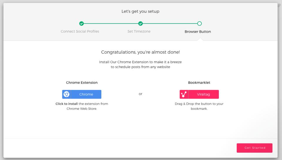 viraltag browser button