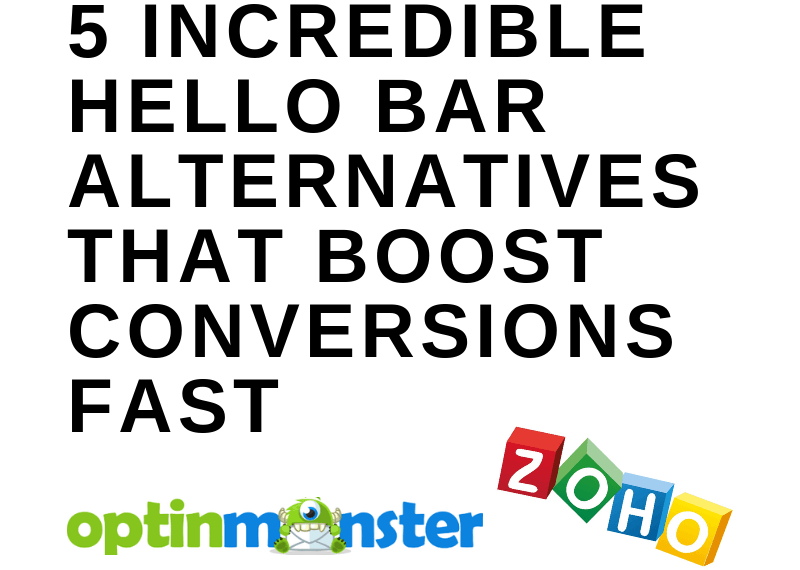 5 INCREDIBLE HELLO BAR ALTERNATIVES THAT BOOST CONVERSIONS FAST