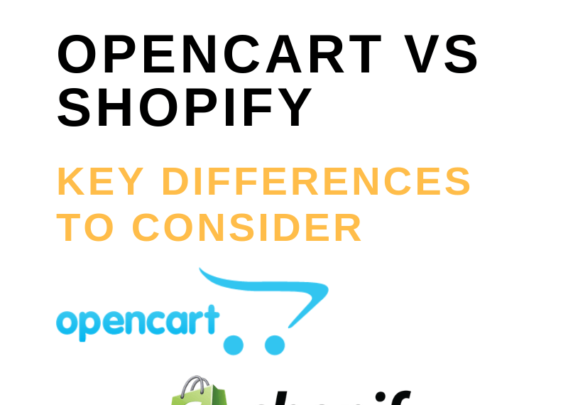 OpenCart vs Shopify_ Key Differences to Consider