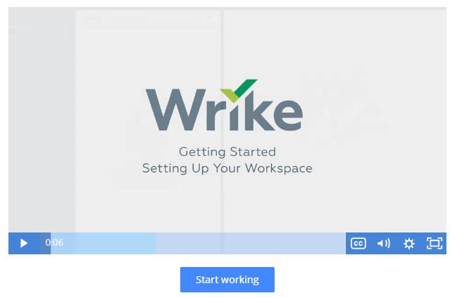 Wrike screenshot