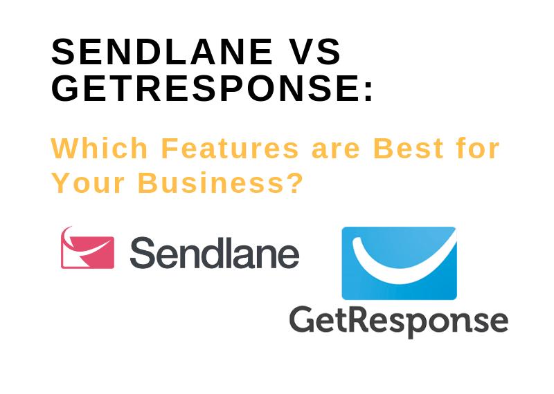 SENDLANE VS GETRESPONSE_