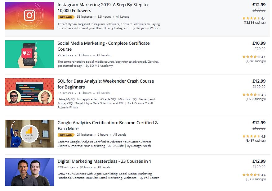 online course marketplaces