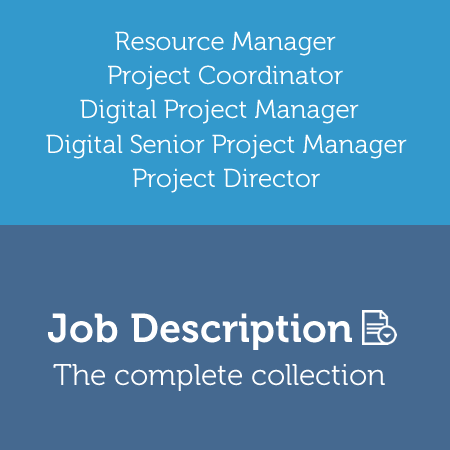 Job Descriptions: All Project Management Office Positions