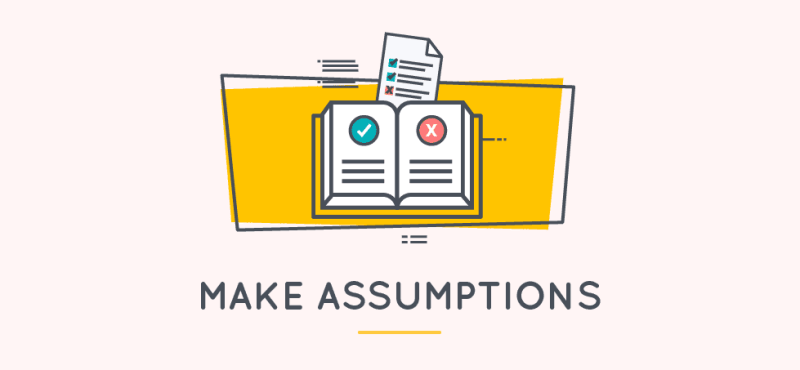 how to write a statement of work guide - make assumptions