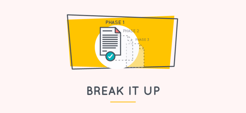 how to write a statement of work guide - break it up