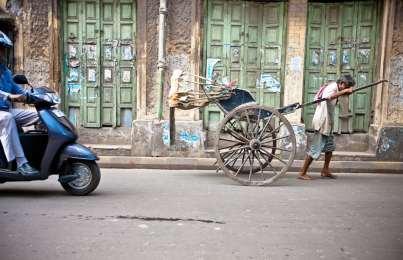 Rickshaw Pullers of Kolkata