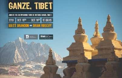 2013: Garze Tibet Tour