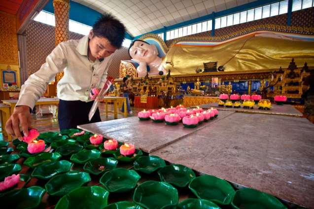 Wat Chaya Mangalaram Thai Temple, Penang