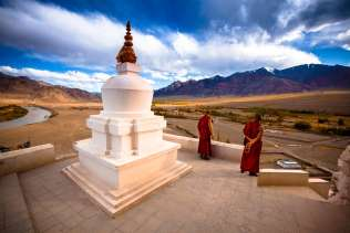 A monastery not far from Thiksay.