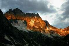 Alpine glow on the Kashmiri Himalaya.