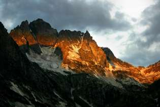 The Himalayan alpine glow.