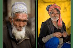 Two Kashmiri men