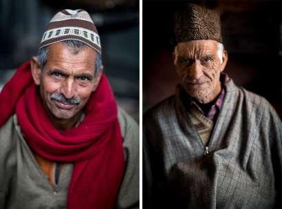 Two Kahsmiri men.