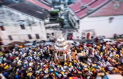 Thaipusam in Slow Motion