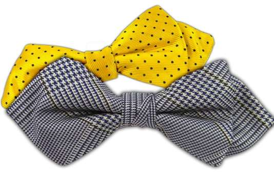 Diamond Tip Bow Ties
