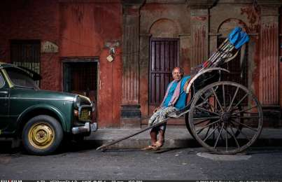 A Requiem to a Rickshaw Puller