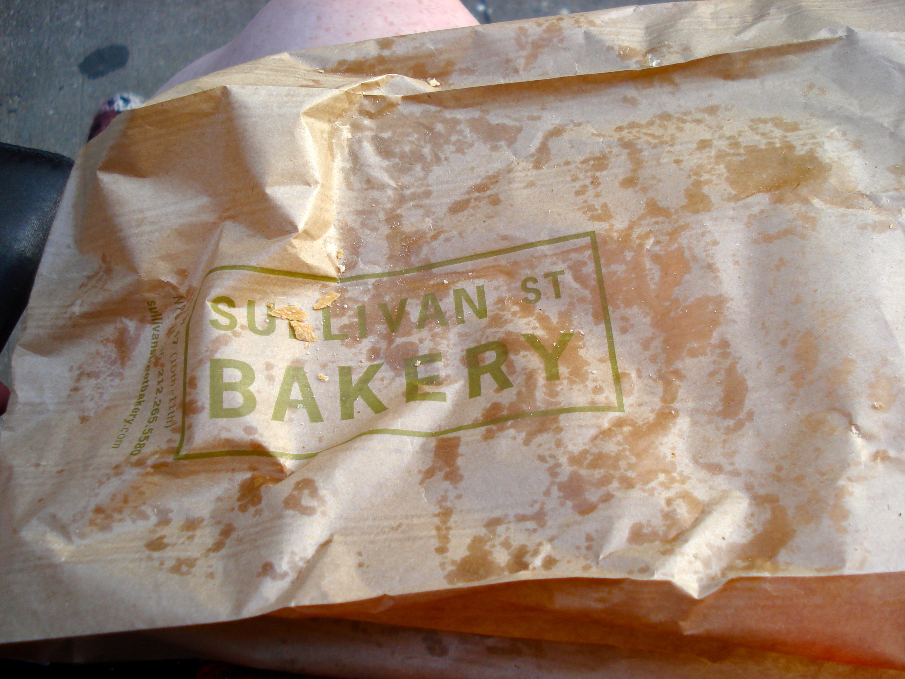 We shall meet again, Sullivan Street Bakery, oh yes, we shall meet again...